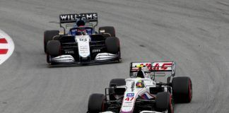 Haas, Alfa Romeo, Williams