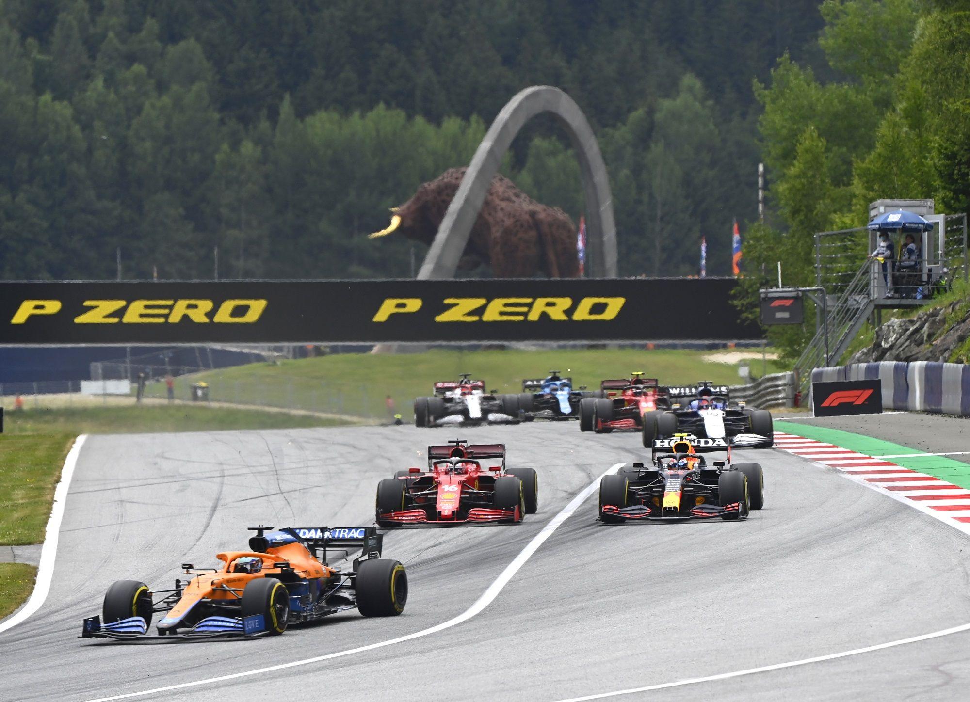 McLaren, Ferrari