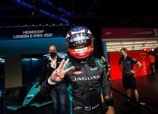 Mitch Evans. Jaguar Racing