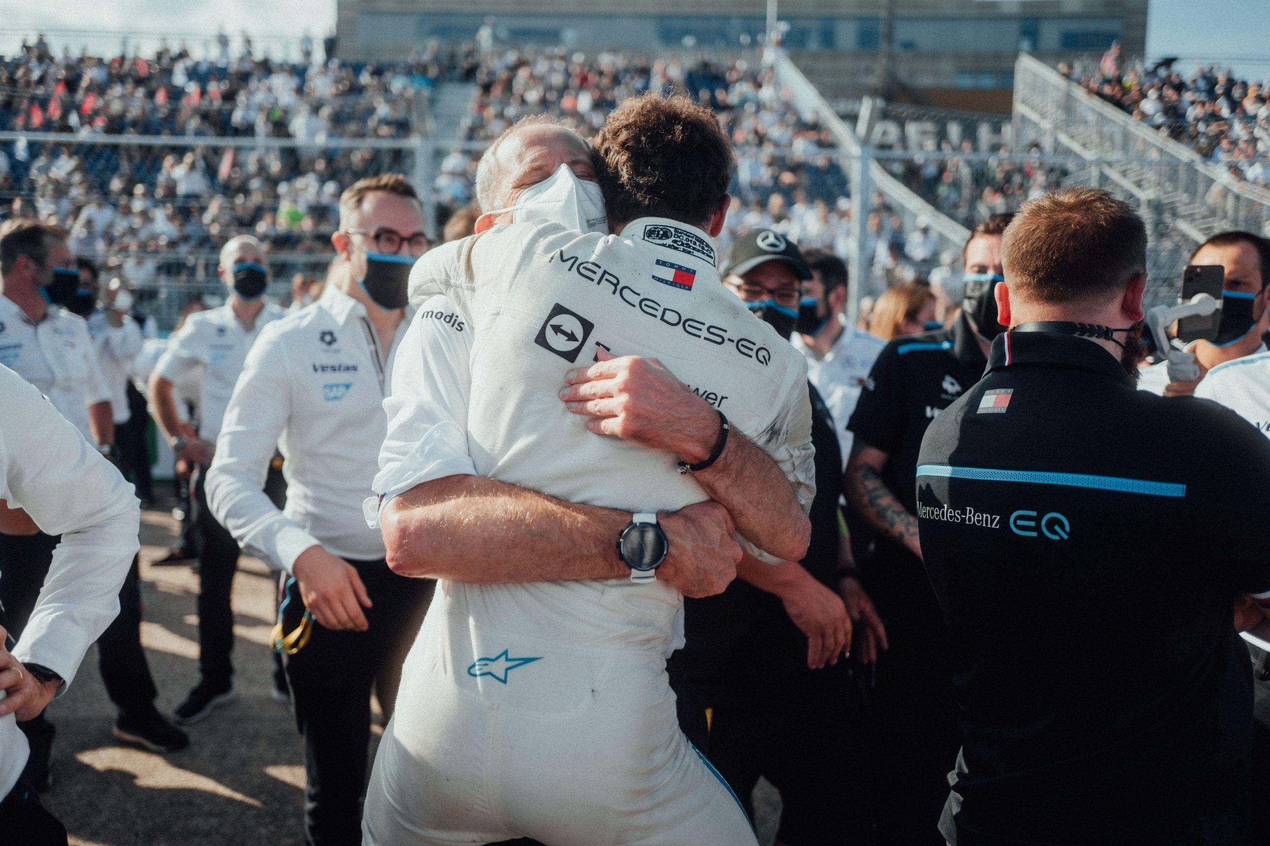 Fórmula E. Mercedes EQ. Nyck de Vries.