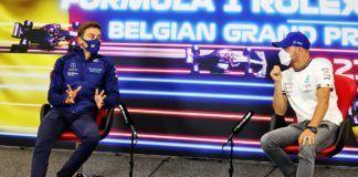 George Russell, Valtteri Bottas, F1