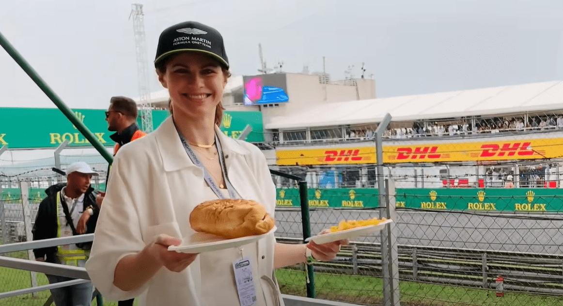 Alexandra Daddario, F1, Hungarian GP