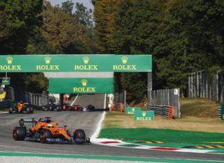 Daniel Ricciardo, Lando Norris, Charles Leclerc, Carlos Sainz