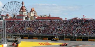 GP de Rusia. Fórmula 1.