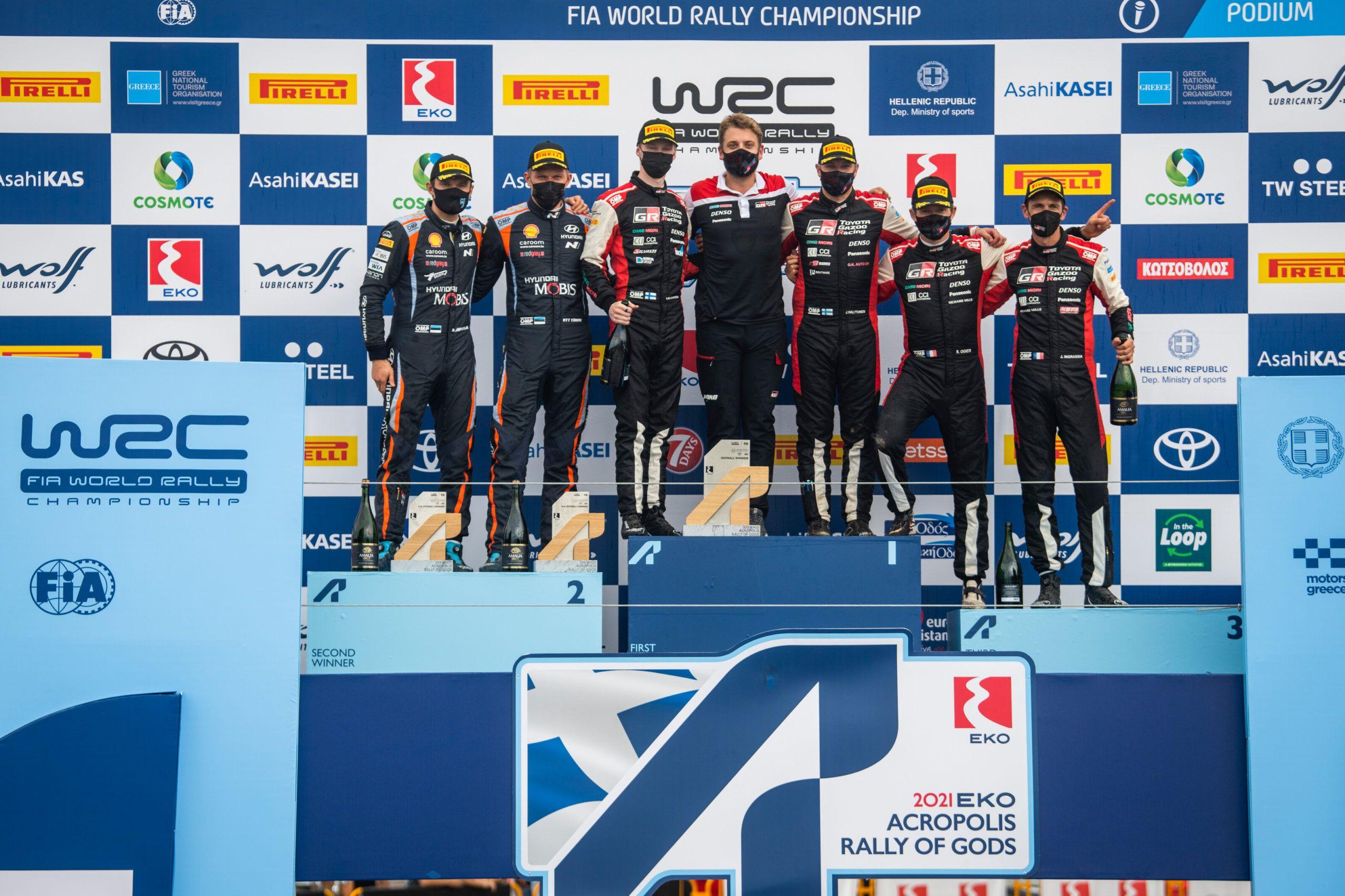 WRC, Acropolis