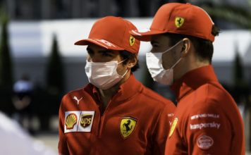 Carlos Sainz, Charles Leclerc, Ferrari