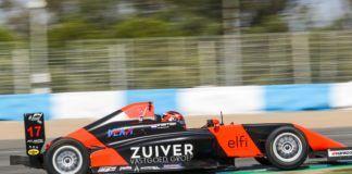 Dilano Van't Hoff gana la carrera del Sábado en Jerez