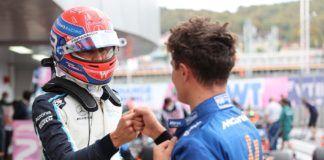 Lando Norris, George Russell, F1